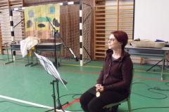 2011     December 21. – Póka Éva művésznő az iskolában