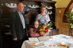 2015.02.22. – Szabó Gáspárné Ilonka 90 éves