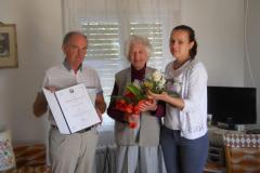 2015.09.08. – Kovács Józsefné Kiss Anna 90 éves